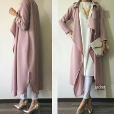 blush pink hijab- Neutral hijab outfit ideas www. blush pink hijab- Neutral hijab outfit ideas www. Hijab Outfit, Hijab Dress, Islamic Fashion, Muslim Fashion, Modest Fashion, Mode Outfits, Fashion Outfits, Womens Fashion, Fashion Trends