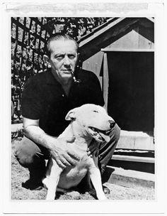 John Fante & dog