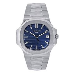 Discover a large selection of Patek Philippe Nautilus watches on - the worldwide marketplace for luxury watches. Compare all Patek Philippe Nautilus watches ✓ Buy safely & securely ✓ Big Face Watches, Cool Watches, Men's Watches, Patek Philippe, Best Affordable Watches, Philip Watch, Swiss Army Watches, Expensive Watches, Elegant Watches