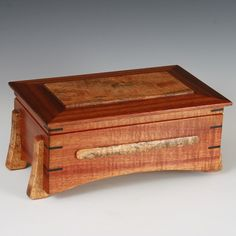 Hawaiian Koa and Mango keepsake box
