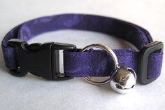 Purple Haze Breakaway Cat Collar - Customizable