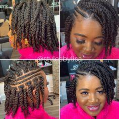 2 Strand Twist Styles, Two Strand Twist Hairstyles, Hair Twist Styles, Two Strand Twists, Girls Natural Hairstyles, Cool Hairstyles, Short Hair Styles, Children Hairstyles, Ponytail Styles