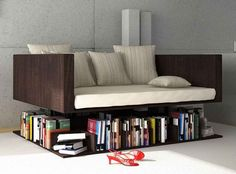 Book Sofa Ransa by Younes Duret. I really want this! Is perfect for us!