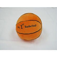 Babies R US Plush My First Plush basketball..got this for my lil guy, and it rattles too