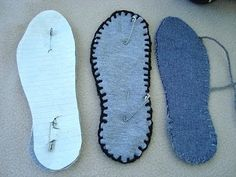 MAKE FABRIC SOLES FOR SLIPPERS: https://www.youtube.com/watch?v=mUtKY3xiRW4&list=UU2W9a0NxbBD53ivsdsnG6SQ