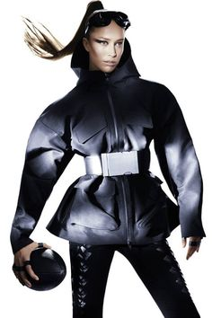 Alexander Wang for H&M is here. See all the pictures here: