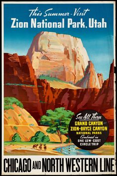 This summer - visit Zion National Park, Utah.
