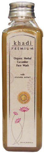 Khadi Premium Organic Herbal Cucumber Face Wash with Aloe... https://www.amazon.co.uk/dp/B00D062XLK/ref=cm_sw_r_pi_dp_x_cFkazbGB71VRA