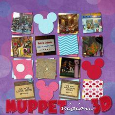 Muppet Vision 3-D - MouseScrappers.com