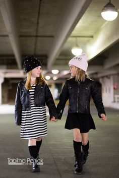 editorial, fashion, children's fashion, h&m, edgy, beanie, kids, children's photography, bff, friends, knee socks, cute, love, tabitha patrick photography