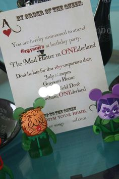 Mad Hatter/Alice in Wonderland Birthday Party Ideas | Photo 24 of 58