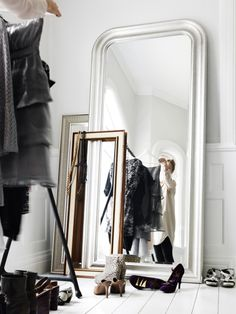 Add a silver lining to your space with a SONGE mirror. It is the perfect piece to reflect natural light into your home.