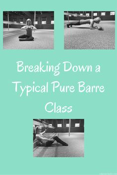 Curious about Pure Barre? Courtney explains what a typical Pure Barre class is like!