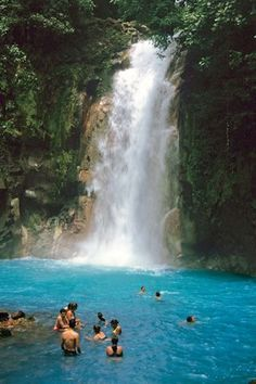 This is going on my Bucket List!!!! Waterfall near Uvita, Costa Rica that you can slide down!!!!!