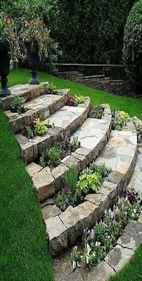 49 Simple Diy Garden Path Designs Ideas is part of Sloped backyard - Every garden looks more interesting with a walkway, which also makes it easier to get around to the shed, and […] Diy Projects Landscaping, Front Yard Landscaping, Garden Projects, Outdoor Landscaping, Landscaping Design, Landscaping Rocks, Landscaping Borders, Hydrangea Landscaping, Shade Landscaping