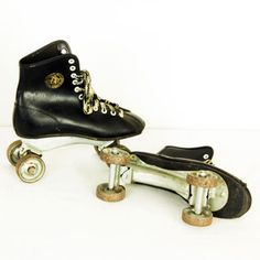 official roller derby skates now featured on fab black contact paper project