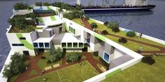 Blueseed: Floating City For Startups, future, watercraft, ship, floating city, Peter Thiel, future office, 2013