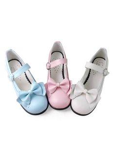 Classic Bow Lolita Shoes