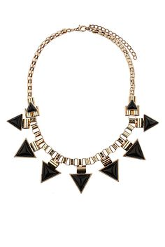 Angle Box Chain Collar - Topshop x