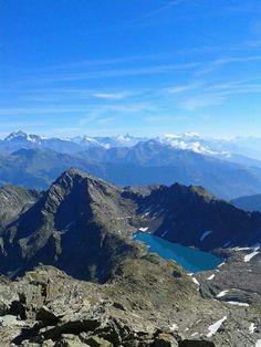 Lago di Pietra Rossa, Morgex, Aosta, Italia