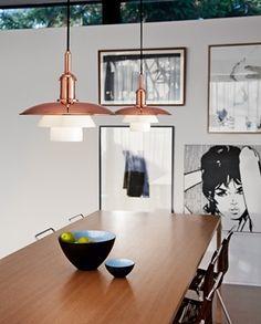 PH 3½-3 Copper | Louis Poulsen Limited Edition of 120 pcs, available @ hugo neumann