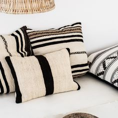 Some natural fibres add a boho/resort feel (think lamps, rug, wall hanging, etc)
