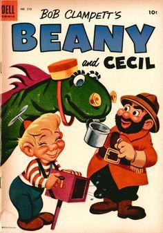 Bob Clampett's Beany and Cecil. Dell Comic. #570  (1954)