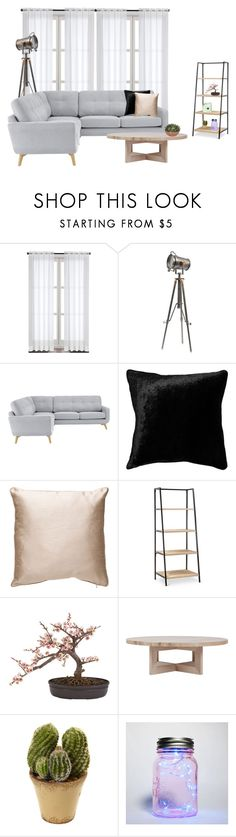 """livingroom"" by mischa-hemmings on Polyvore featuring interior, interiors, interior design, thuis, home decor, interior decorating, John Lewis, Improvements en Nearly Natural"