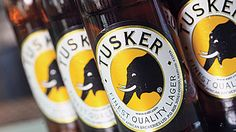 When browsing my local brew shop, I came across Tusker. Made in Nairobi, the beer is named for an elephant who killed the brewery's founder. What a crazy story. Refreshing beer, love it in the summer
