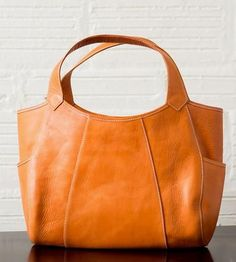 Michelle Leather Handbag by Tom Horn Collection on Scoutmob Shoppe. This is  such a great tote. 3b63aee217c0d