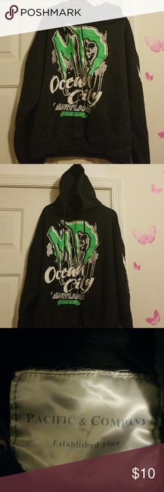 Hoodie Ocean City Maryland Hoodie Pacific & Company Other