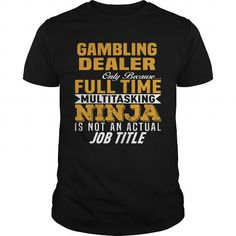 Awesome Tee Gambling Dealer T-Shirts