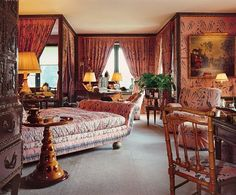 GUY AND MARIE-HÉLÈNE DE ROTHSCHILD Incomparable style in the french countryside Interior Design by François Catroux (Ferrières)