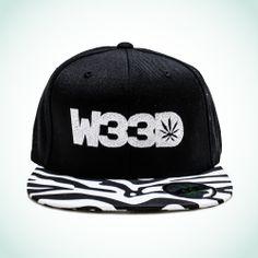 W33D Zebra Snapback #W33D #Zebra #Snapback
