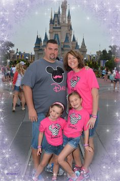 Disney World Family Matching Family Tshirts by OnceUponATeeShop