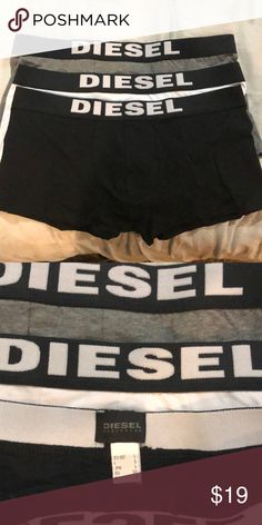 2363ecea8 Men s New Diesel Boxer Trunks Size Large Just don t have the box but these  are brand new in White