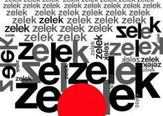 "Bronisław Zelek, ""LITERA OBRAZ"", 2012, fot. Galeria Grafiki i Plakatu"