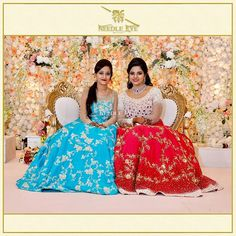 Anusha Reddy's reception blouse - Her blouse was all about redefining the beauty of old school floral intricates with… Miles Apart, Strapless Dress Formal, Formal Dresses, Bridal Blouse Designs, Work Blouse, Pageant, Lehenga, Indian Fashion, Sisters