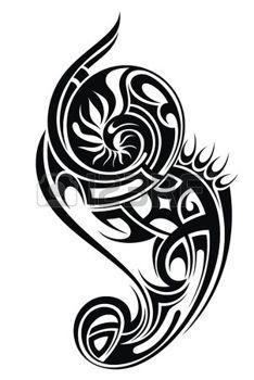 celtique: Tatouage tribal illustration                                                                                                                                                      Plus
