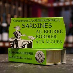 Sardinen mit Bordier Butter und Algen zum warm essen