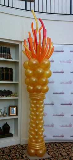 Balloon torch