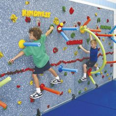 challenge course-bouldering games for kids