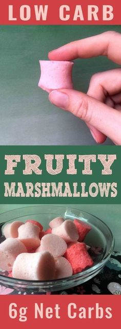 It's the treat you never knew you wanted: a low carb marshmallow that is magically delicious. This recipe is Low Carb, Keto, Paleo, Atkins, THM, Sugar Free and Gluten Free.