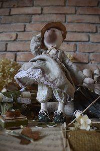 miś, bear, artdoll, doll, bearart