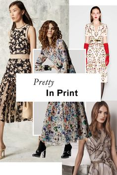 Whether you opt for airy florals, spots, or something in between, the season's retro-tinged frocks offer something for every taste.