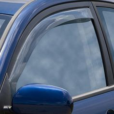 WeatherTech 70381 Series Light Smoke Front Side Window Deflectors - Side Window Deflectors WeatherTech(R) Side Window Deflectors, offer fresh air enjoyment with an original equipment look, installing within the window channel. They are crafted from the finest 3mm acrylic material available. Installation is quick and easy, with no exterior tape needed. WeatherTech(R) Side Window Deflectors are precision-machined to perfectly fit your vehicle's window channel. These low profile window…