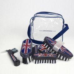 John Whittaker Union Jack Bling Grooming Kit