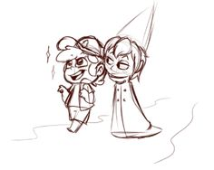 Anonymous said: Pinescone? (Wirt [Over the Garden Wall] x Dipper [Gravity Falls]) Answer: I haven't watched Over the Garden Wall yet but this ship is cute at first glance bro