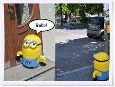 Er hat mit uns gesprochen! Wir sind entzückt! #Minions #Minion #Dave #Bello