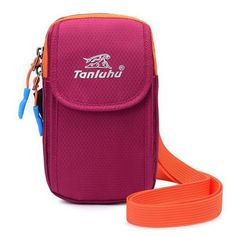 Women Dual Use Sport Running Arm Bag Fitness Bag Outdoor Nylon Crossbody Bag Waist Bag
